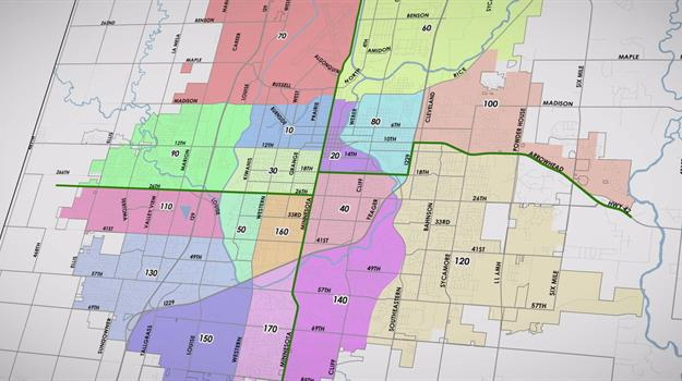 A Look At The District Beat Map In Sioux Falls