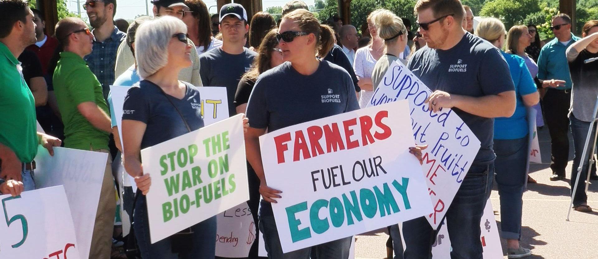 KELO Farmers Protest