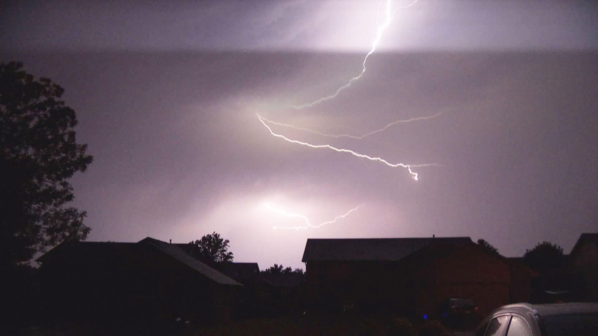 KELO Lightning Severe Weather