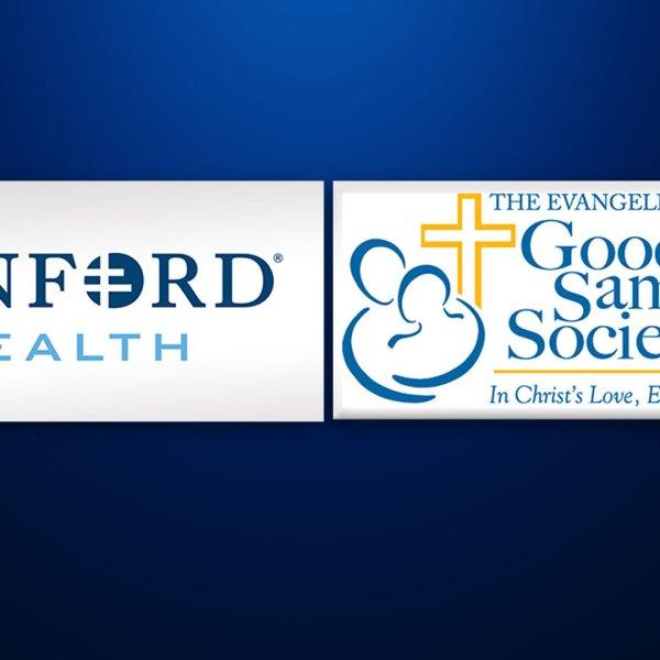 KELO Sanford Health Good Samaritan Society logos