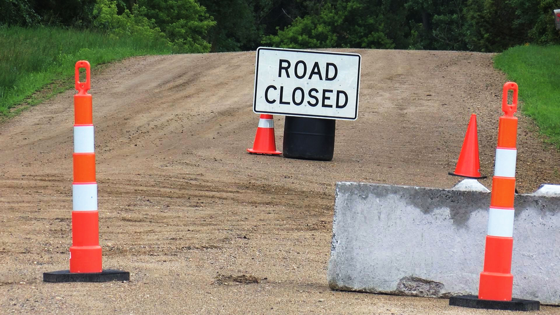 KELO Road Closed