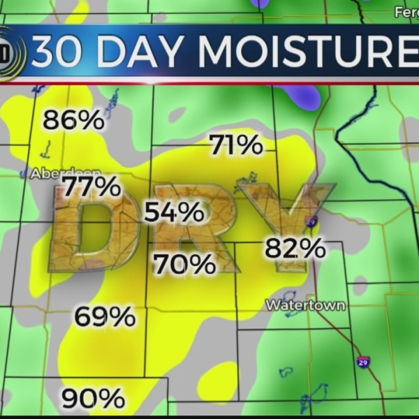 Parts Of Northeast KELOLAND In Drought