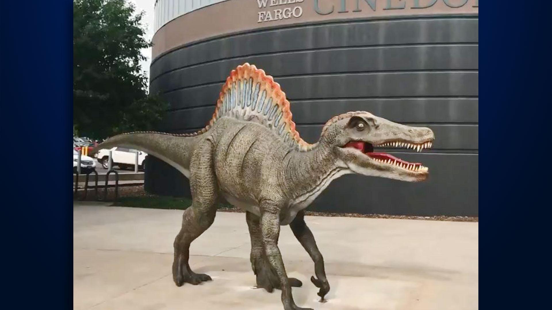 KELO Pavillion Spinosaurus