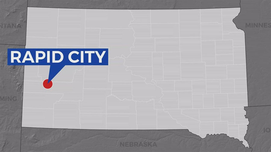 KELO Rapid City locator map