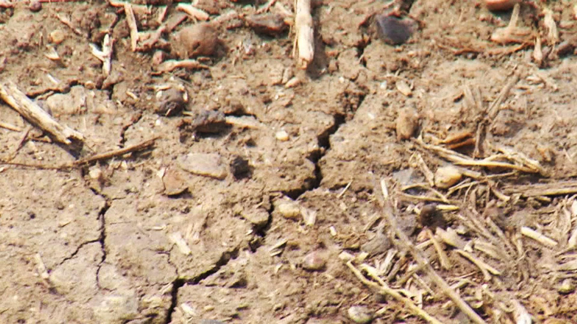 KELO South Dakota drought dry conditions dirt