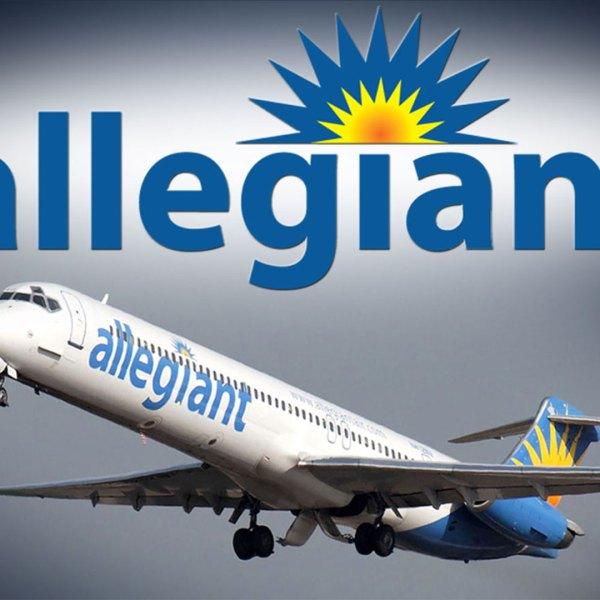 KELO Allegiant airlines airplane flight