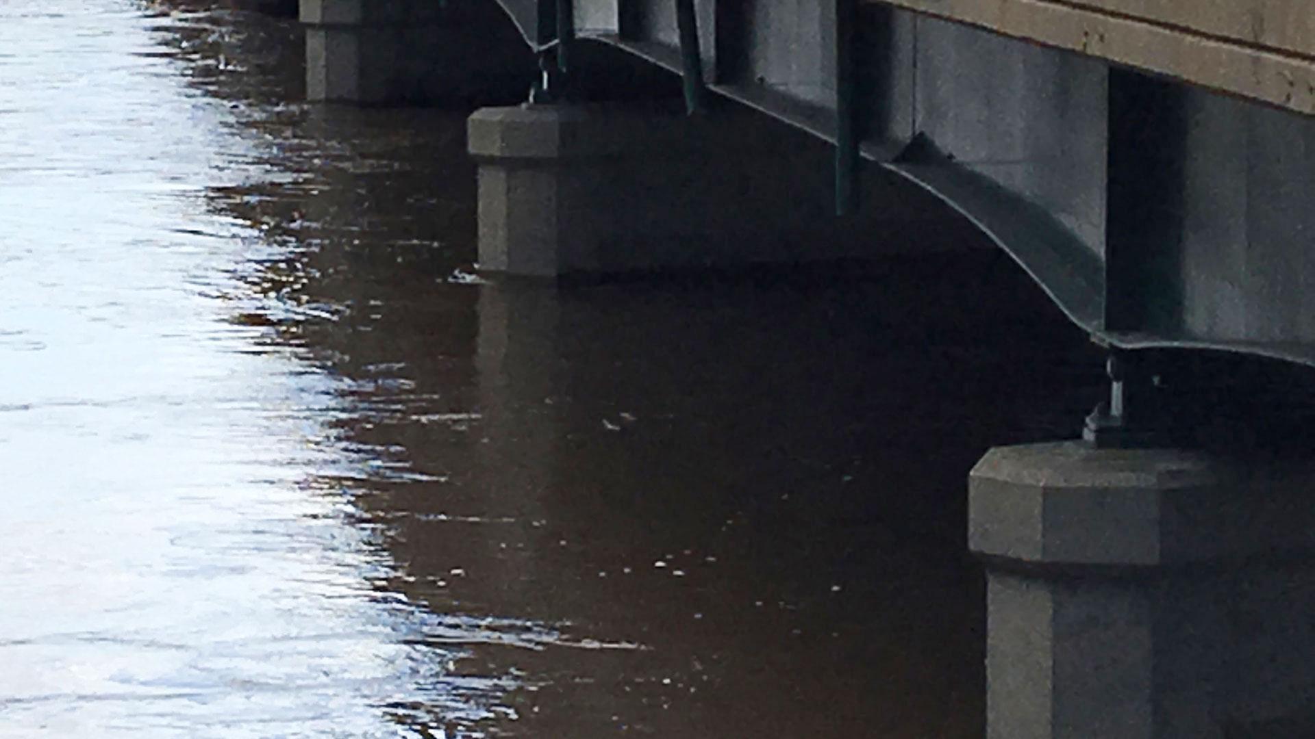 KELO water levels highway 11 splitrock bridge