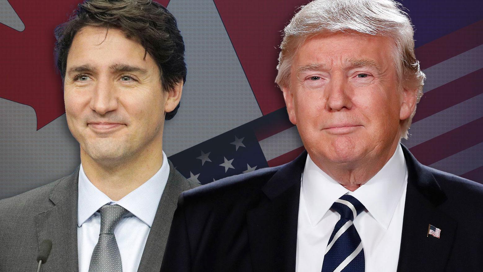 justin trudeau donald trump Canada