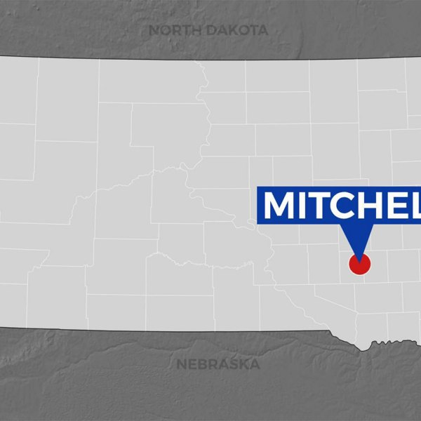 KELO Mitchell South Dakota map locator
