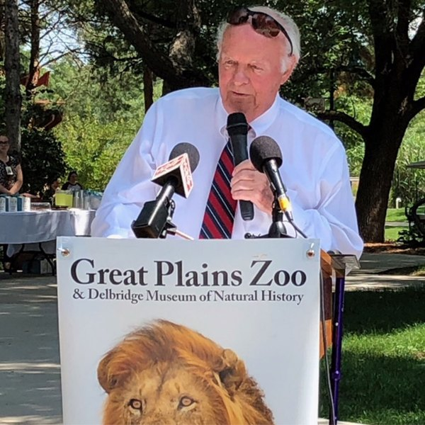 KELO T. Denny Sanford Great Plains Zoo donation