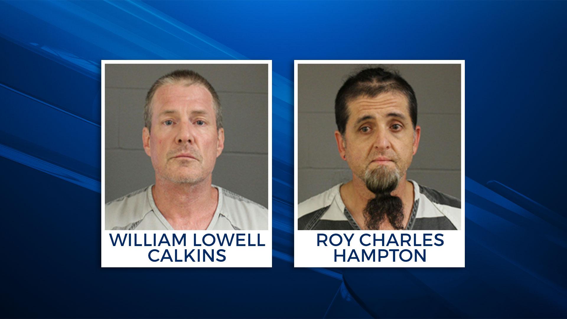 KELO William Calkins Roy Hampton inmates escape
