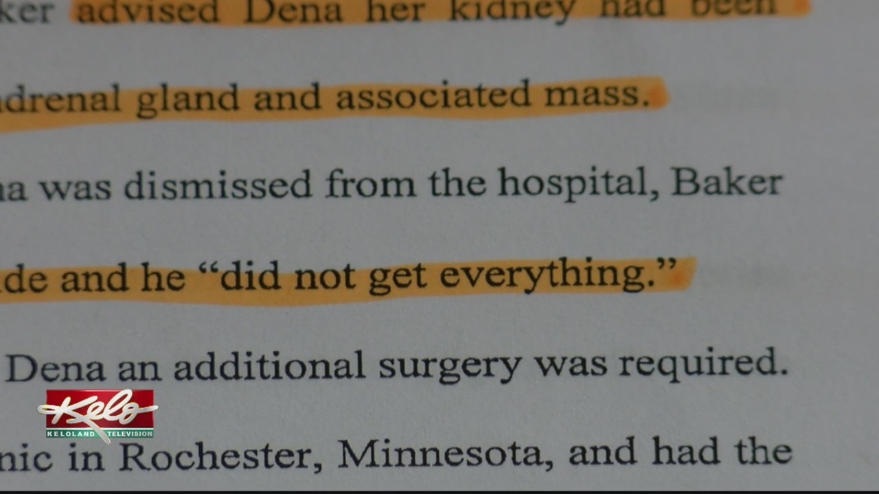 Iowa Woman Suing Over Kidney Removal