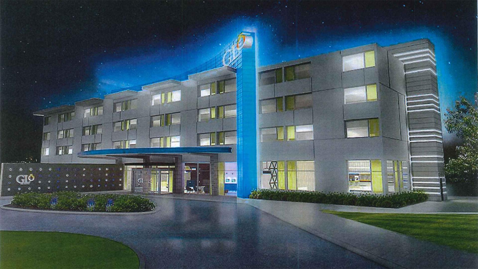 KELO GLo hotel Sioux Falls design
