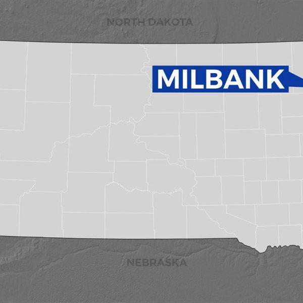 KELO Milbank South Dakota map