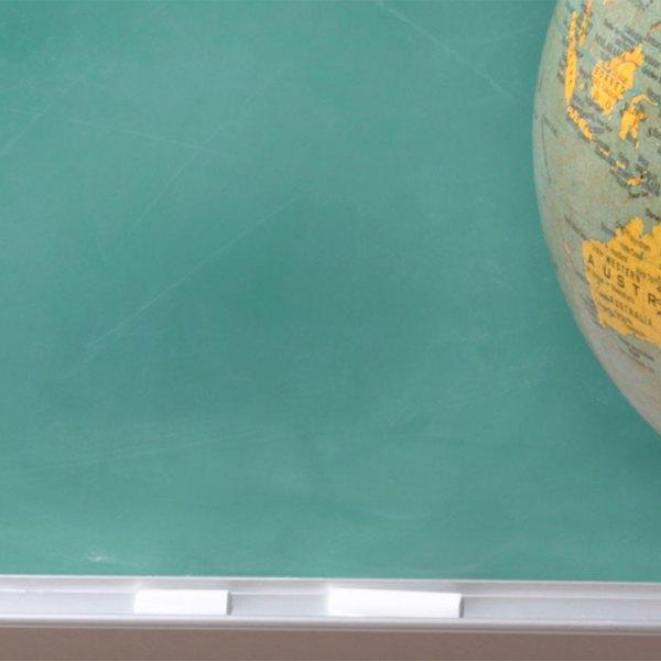 KELO chalkboard globe education classroom