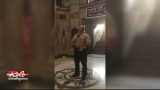 Codington County Deputy Sings National Anthem In Courthouse