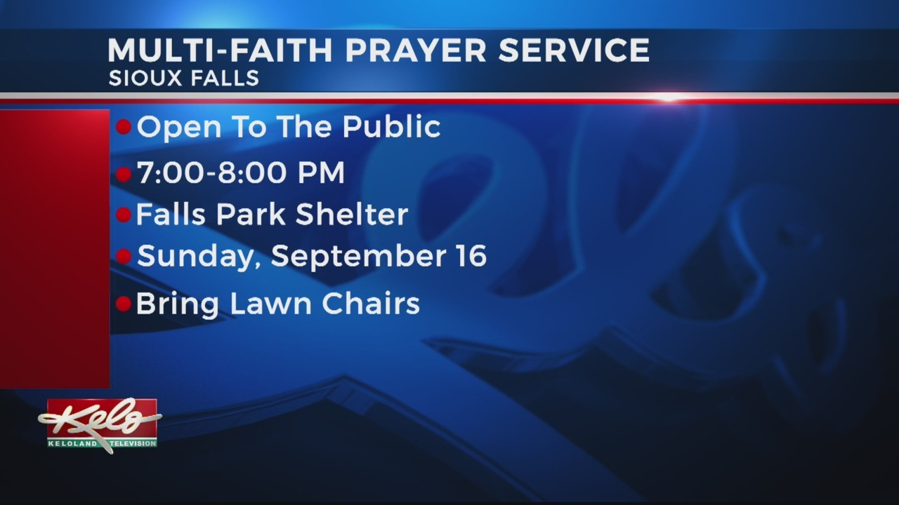 Multi-Faith Prayer Service Set For This Weekend In Sioux Falls