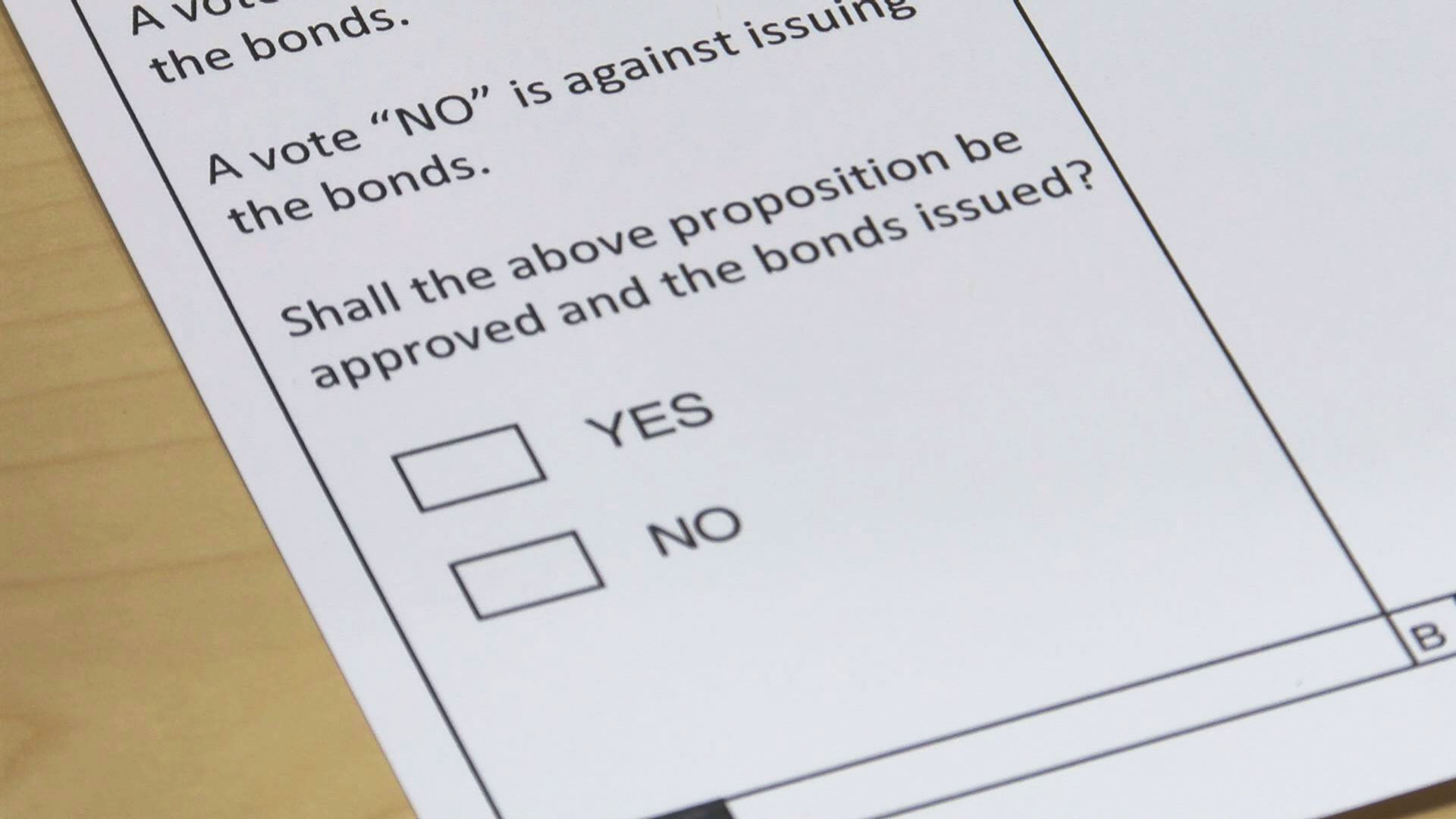 KELO School bond vote ballot
