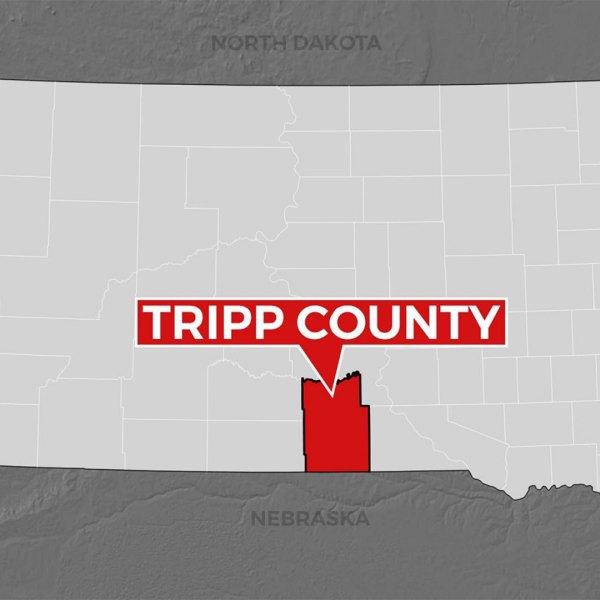 KELO Tripp County South Dakota map locator