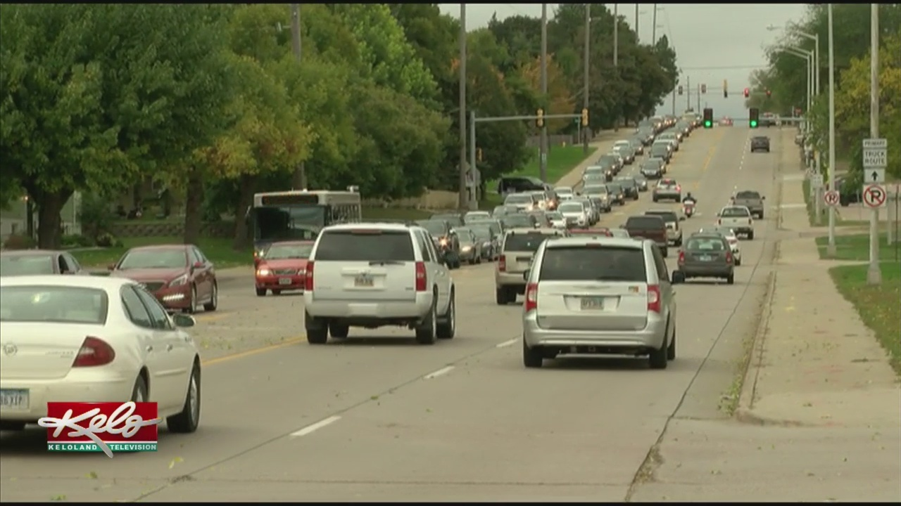 Traffic Lights Back On As Power Is Restored In Sioux Falls