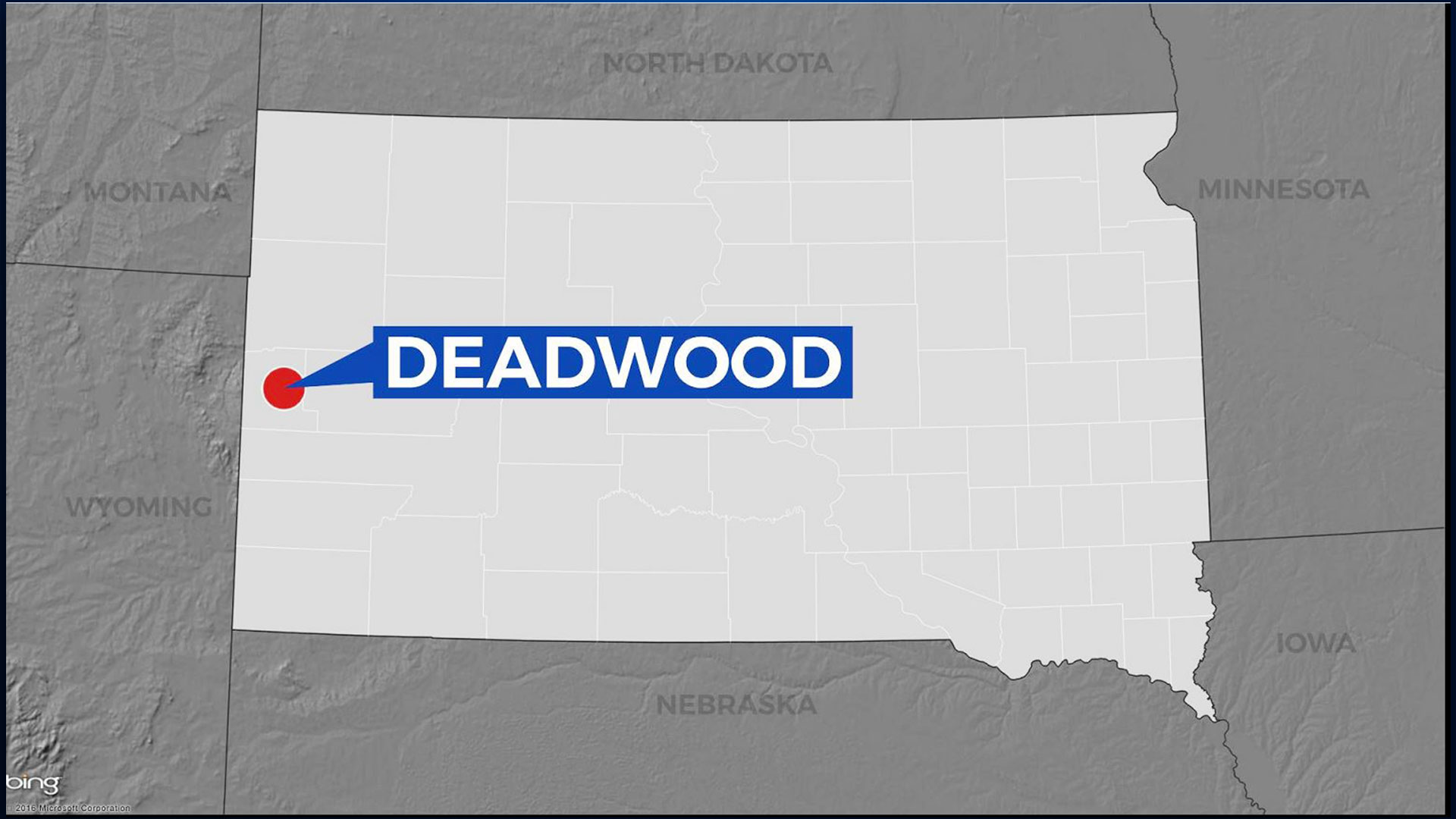 KELO Deadwood Locator