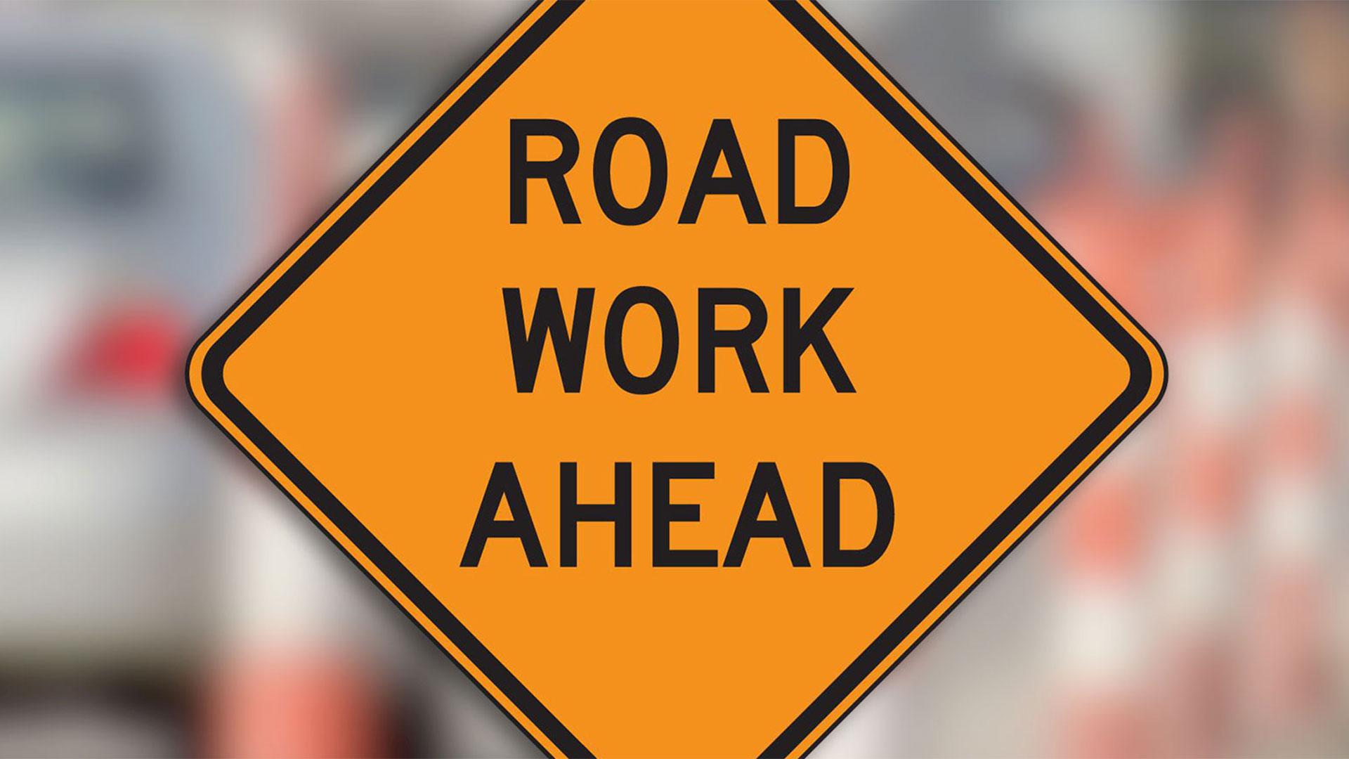 KELO Road work ahead generic construction