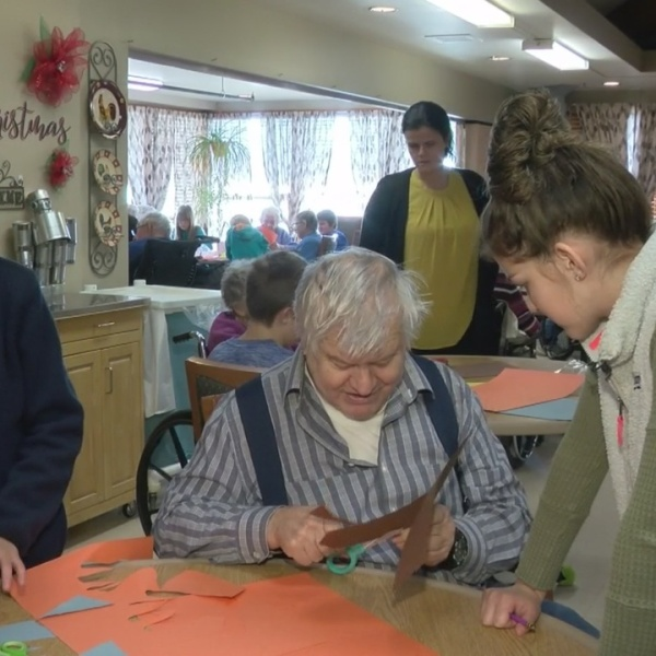 Adopt-a-Grandparent Project Brings Generations Together in Alcester