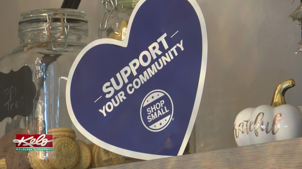 People In KELOLAND Support Small Business Saturday