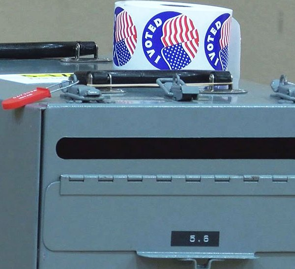 KELO voting ballot box election voters campaign
