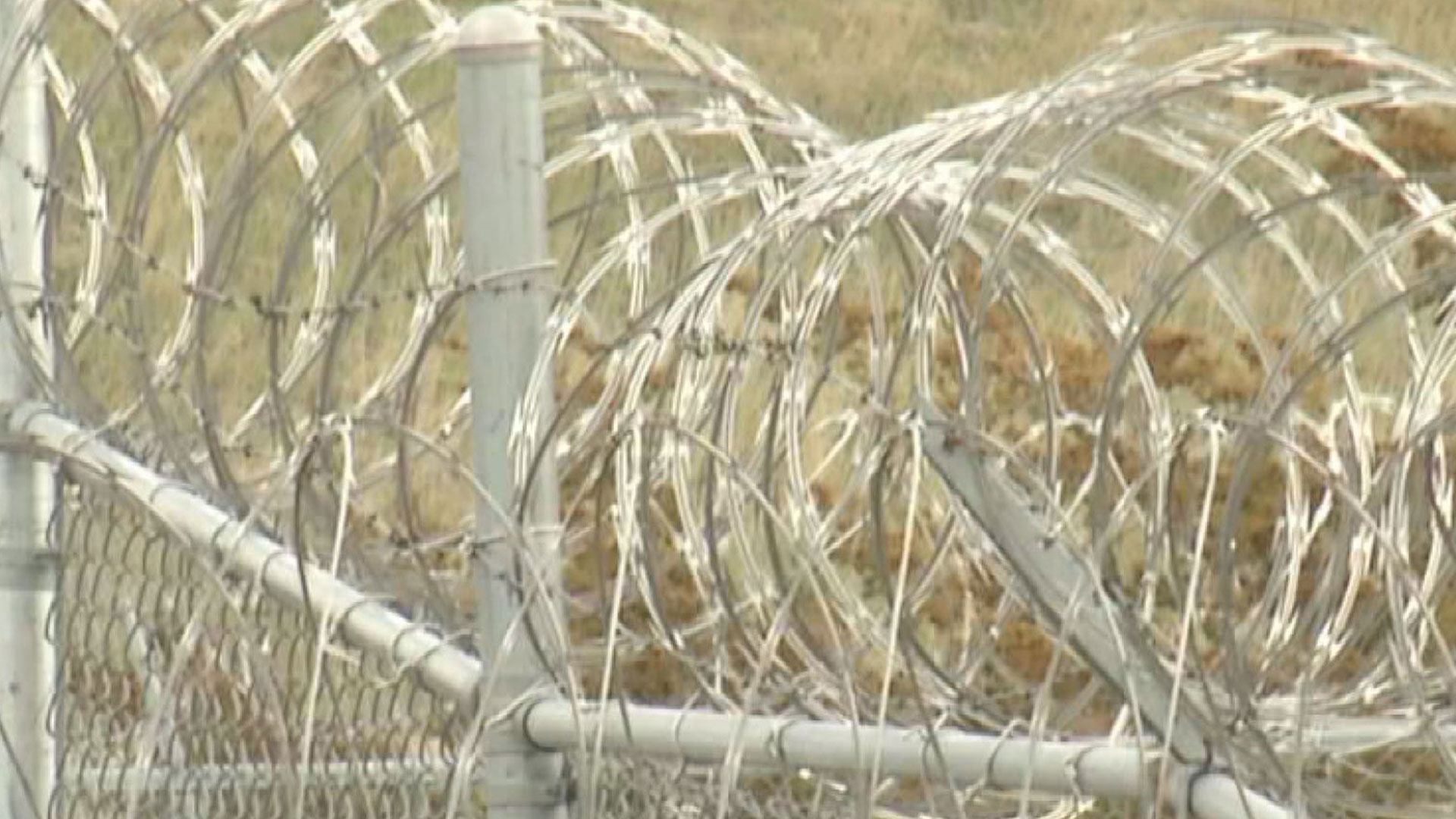 KELO Jail Prison Barbed Wire Fence