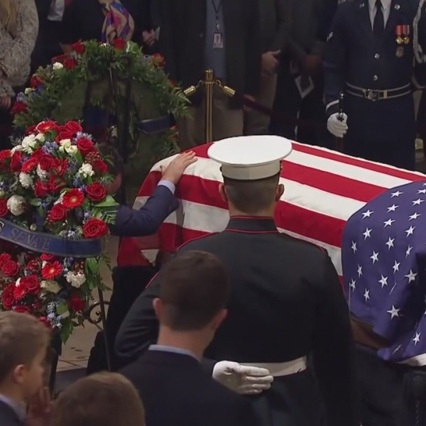 A Nation's Farewell For George H.W. Bush