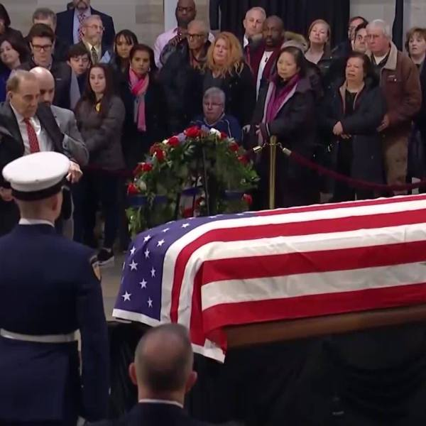 Bob Dole Salutes George H.W. Bush
