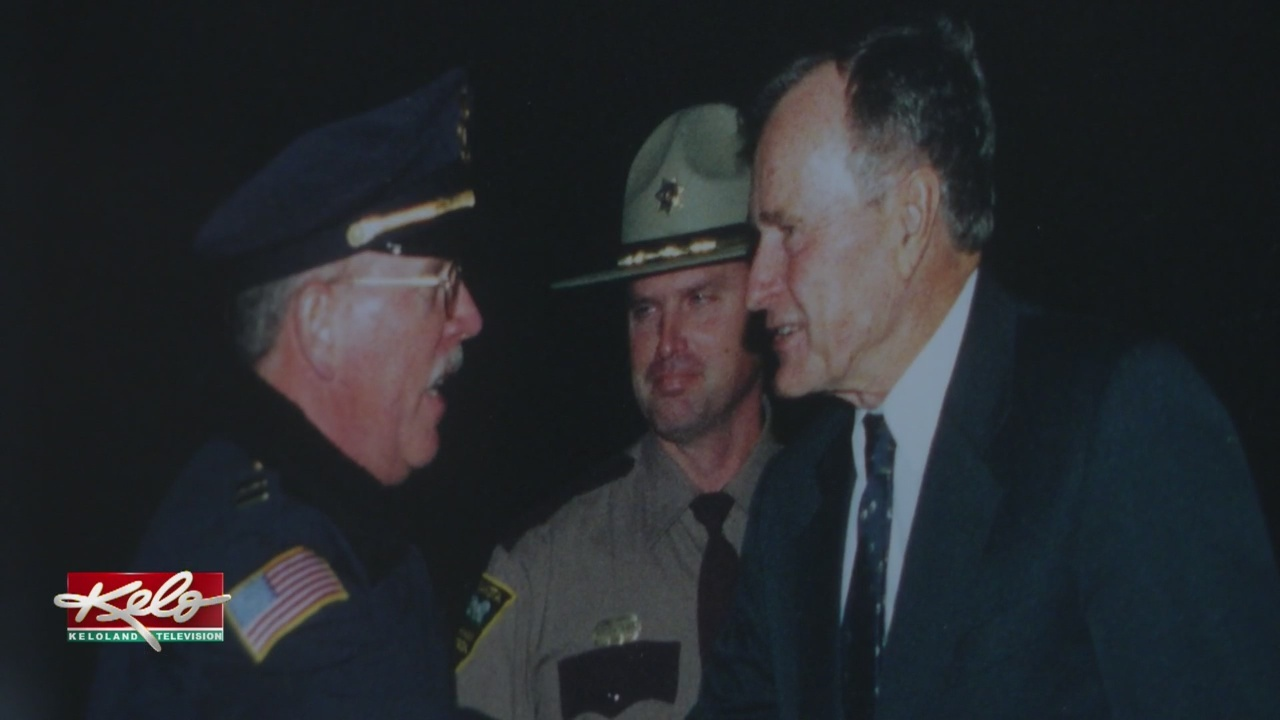 Law Enforcement Officers Remember Meeting President Bush