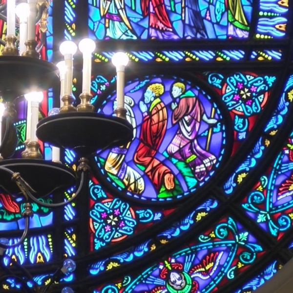 Preparing For Christmas At The Cathedral