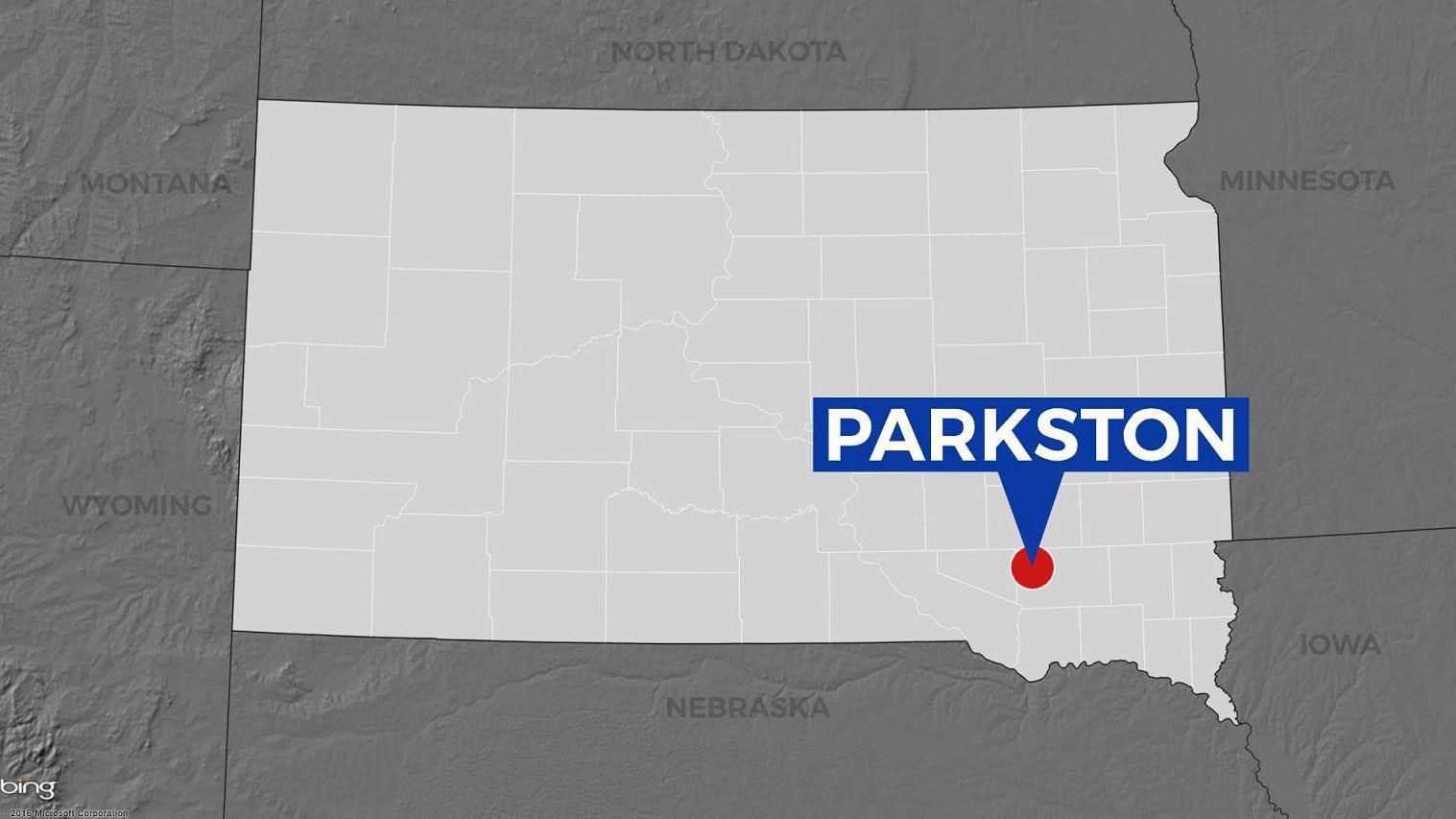 KELO Parkston South Dakota map locator