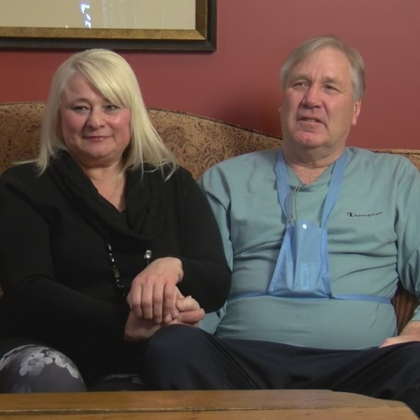 Man Suffered Heart Attack On Wedding Anniversary, Love Saved His Life