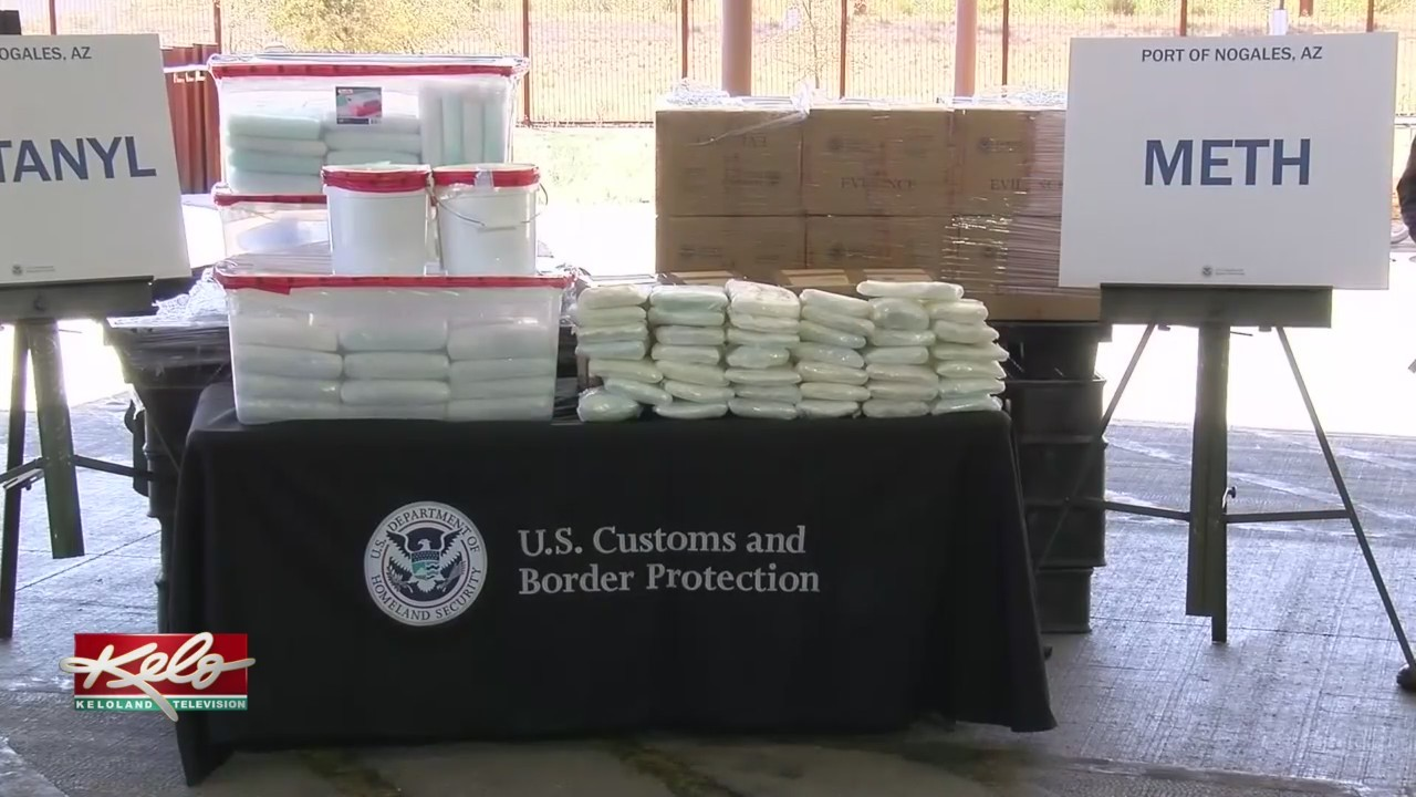 U S  Customs And Border Protection Seize 245 Pounds Of Fentanyl
