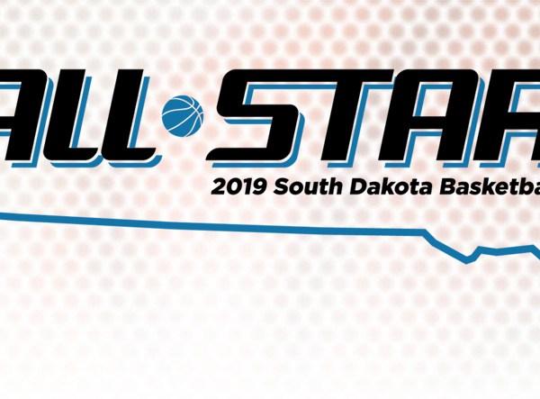 KELO South Dakota All-Star Basketball logo