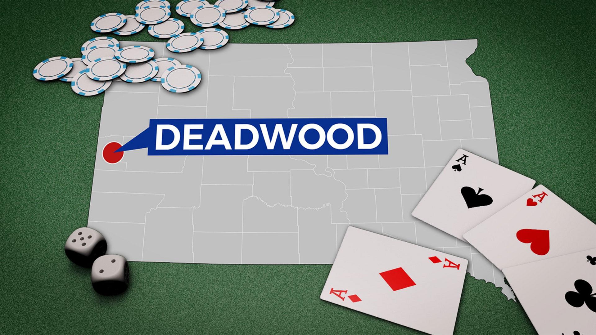 KELO Deadwood locator map gambling generic