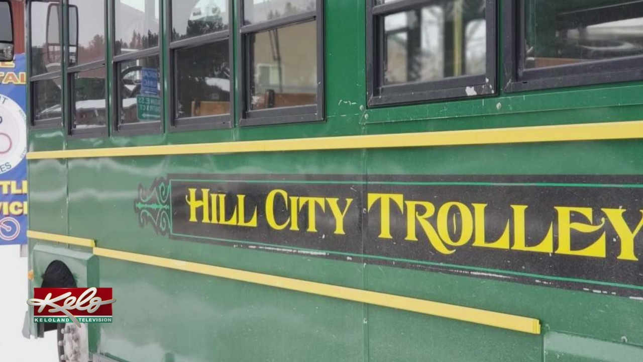 Hill City Has Its Own Trolley