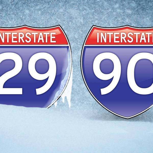 KELO Interstate 29 90 Closed