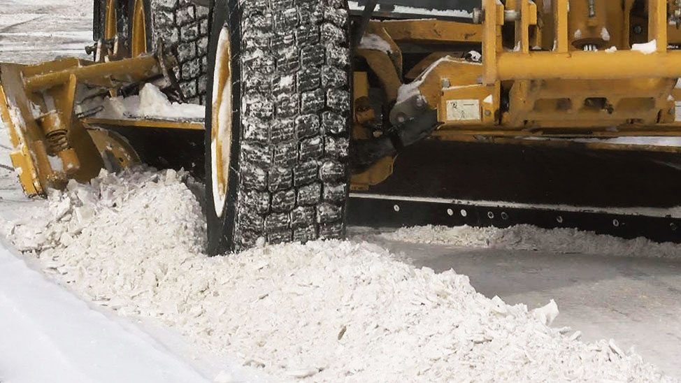KELO sioux falls snow plow removal