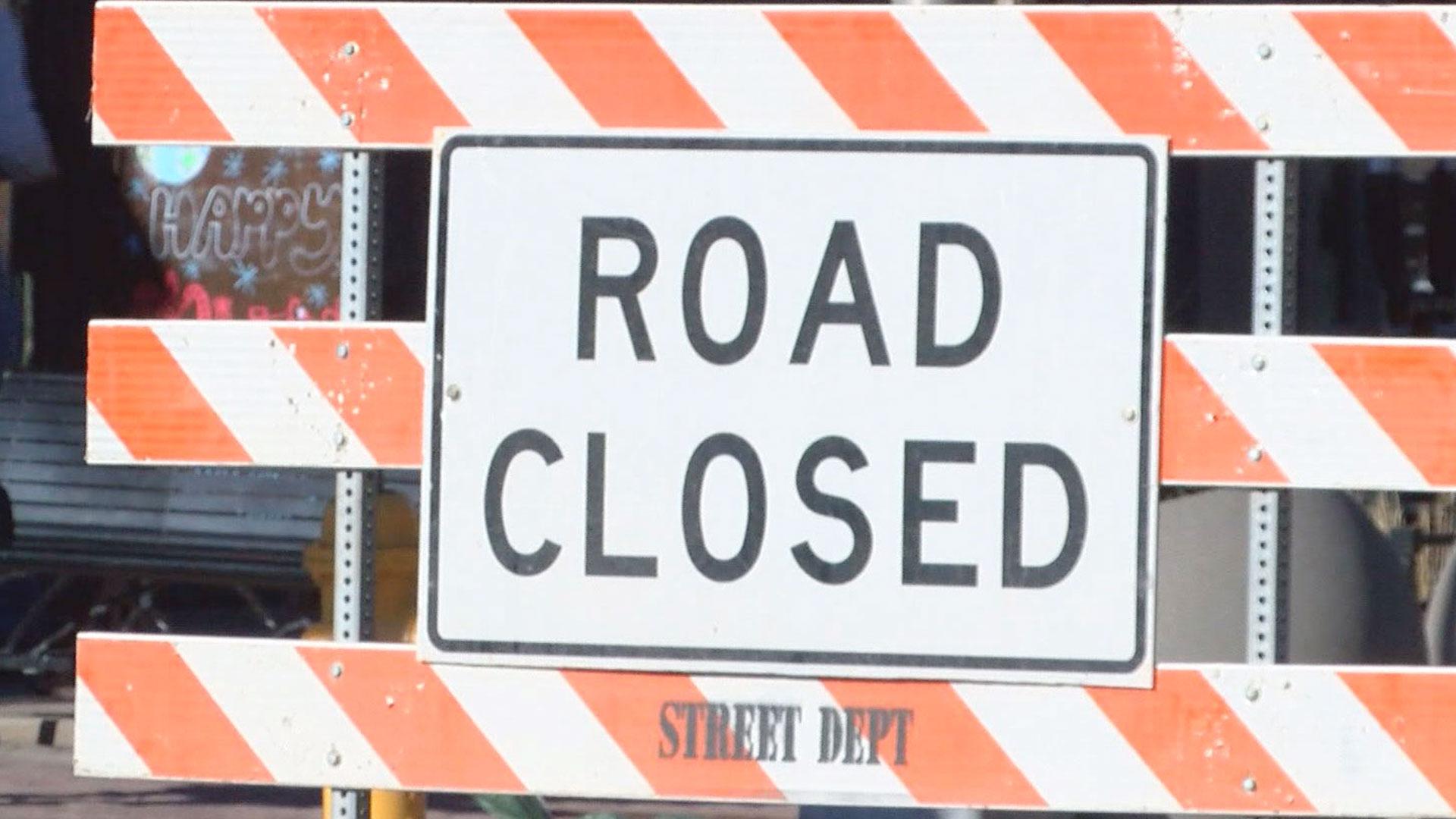 KELO Road Closed2