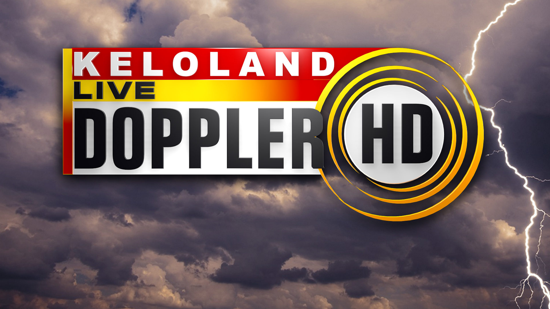 KELO Live Doppler HD thunderstorms lightning