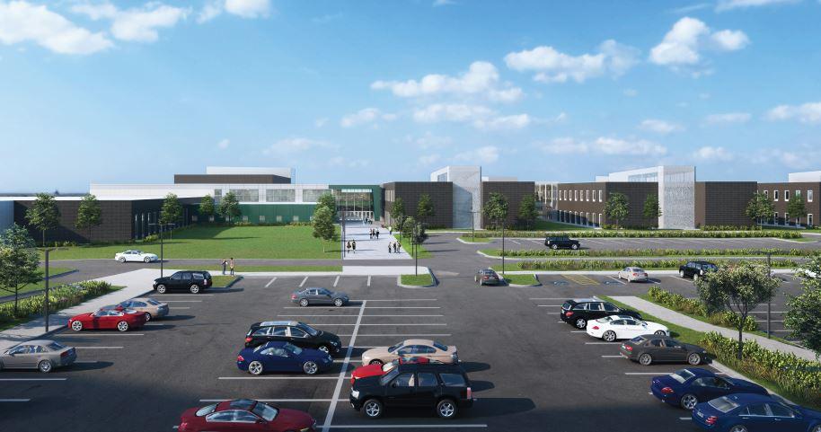 KELO Jefferson High School Rendering