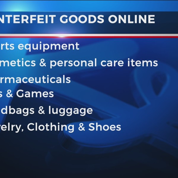 BBB issues warning about counterfeit purchases