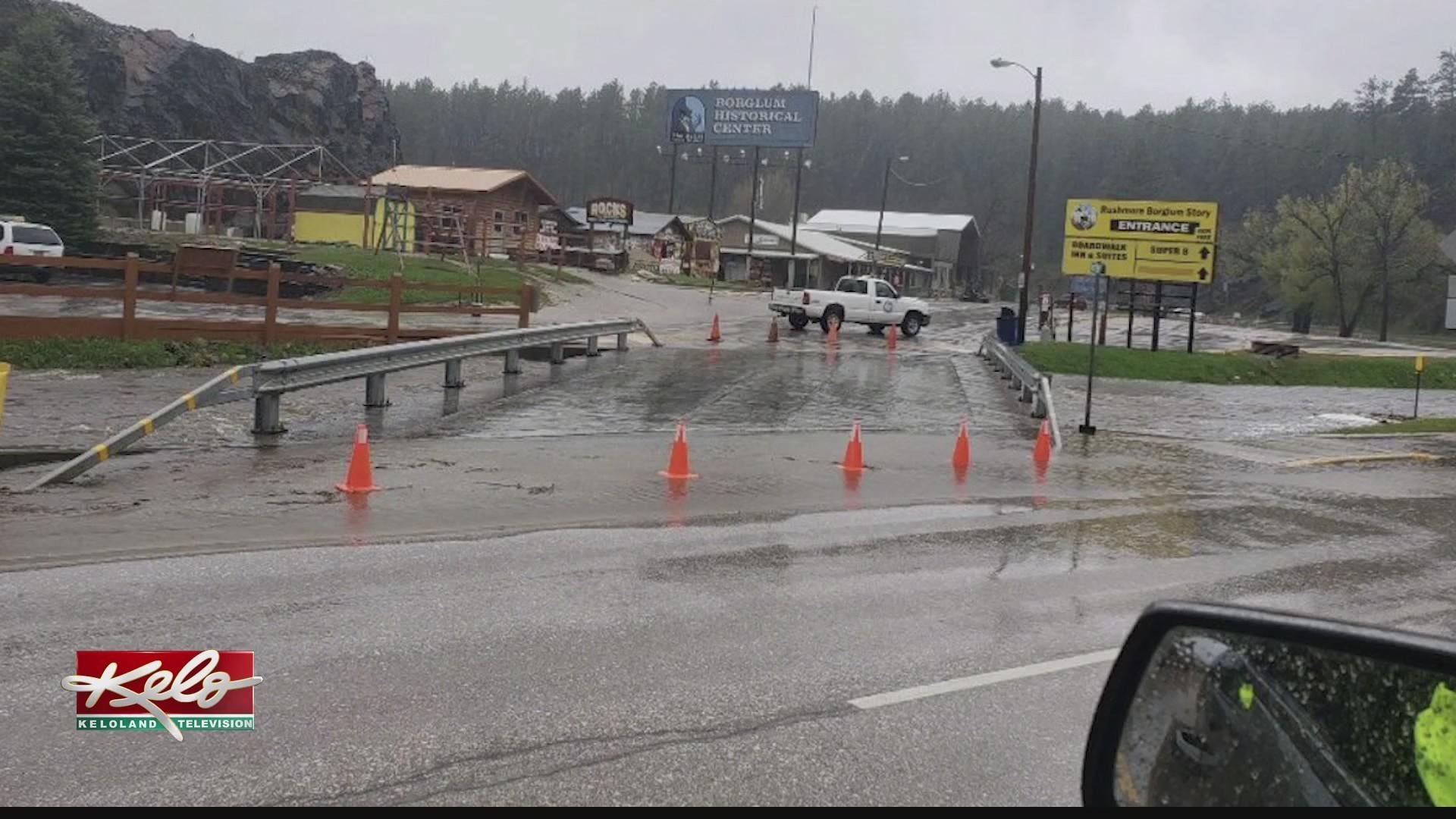 Dangerous driving conditions in Black Hills