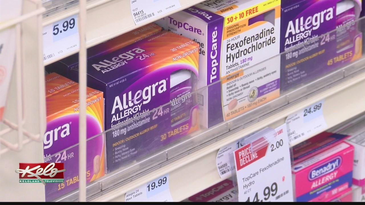 Dealing with seasonal allergies