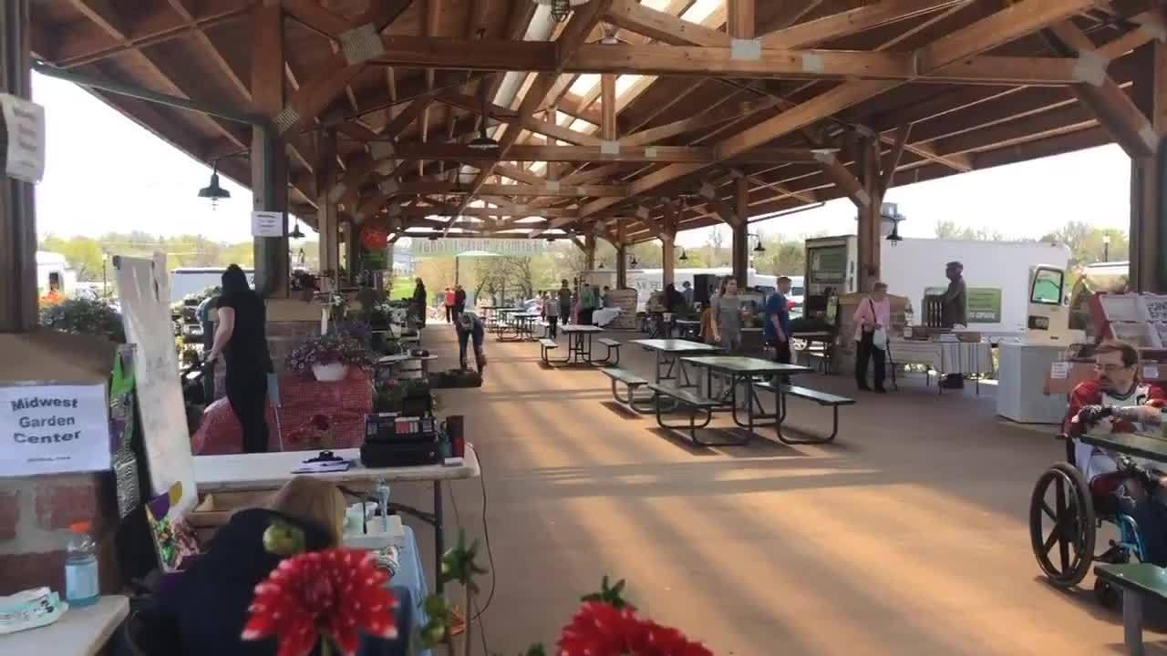 Falls Park Farmers Market opens Saturday