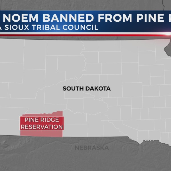 Oglala Sioux Tribal Council: Gov. Noem not welcome on Pine Ridge Reservation